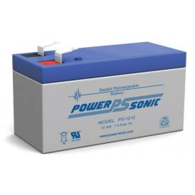 Batteria ricaricabile sigillata PowerSonic PS-1212 12V 1,4A
