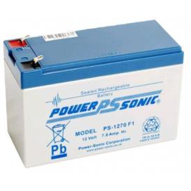 PowerSonic PS-1270F1 12V 7A Reachargeable sealed lead acid battery