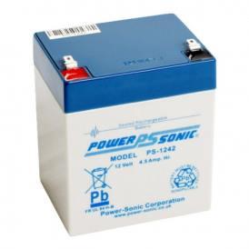 Batteria ricaricabile ermetica al piombo PowerSonic PS-1242 12V 4,2A std (Q19241)