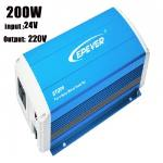 Inversor de onda sinusoidal ETI 200-12-220 de la serie de 230V EPSOLAR EPtech 200W 12V AC
