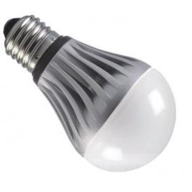 LED vela bombilla 4W de potencia E14 con una temperatura de color de 3000K blanco cálida de 220VAC