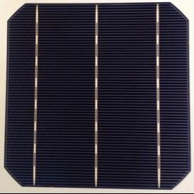 """Cella solare Mono 6""""x6"""" (156X156 mm) tipo A-grade 3BB"""