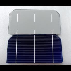 """Cella solare Mono 3""""x6"""" (76X156 mm) tipo A-grade 3BB"""
