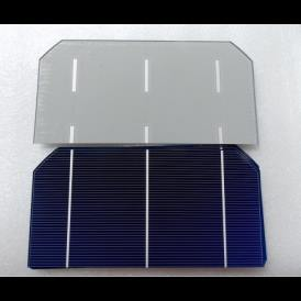 "Solar cell Mono 3""x6"" ( 76X156 mm ) A-grade 3BB"