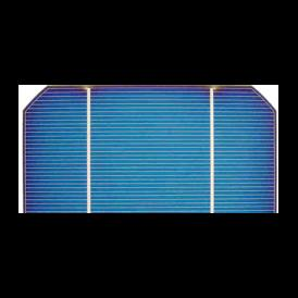"Cella solare Mono 2.5""x5"" (62.5X125 mm) tipo A-grade 2BB"