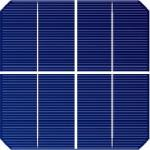 Célula solar Monocristalina 2-punto-5-X-2-punto-5 pulgadas (63x63 mm) A-Grade 1 barra collectora 700mW de potencia