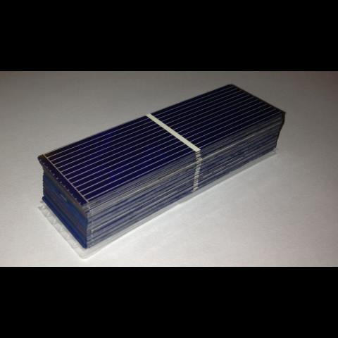 Kit fai da te 12w da 36 celle solari poli 1 x3 26x78 mm - Mini kit fotovoltaico ...