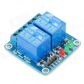 2 channel 5V relay module with leds