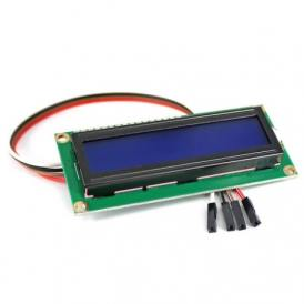 1602A IIC LCD display with blue light