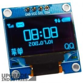 Modulo Display 1.3 pulgadas 7 pin OLED SPI/IIC Color Azul
