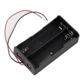 Caja da 2 Slota para Bateria Tipo 18650