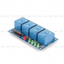 4 channel 5V relay module with leds