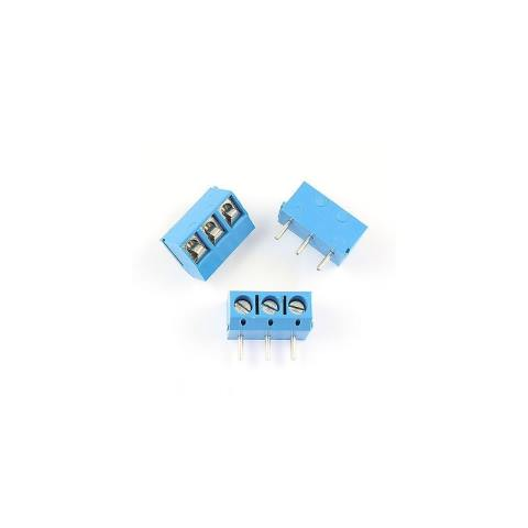 3 Pin Screw Terminal Block Connector 5mm Pitch