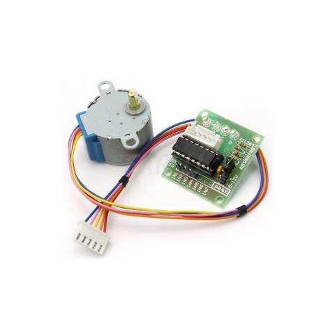 Dc 5v 4 Phase 5 Wire Stepper Motor With Uln2003 Driver Board