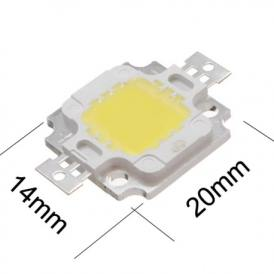 Led Alta Luminositá 10W bianco 800-900Lm