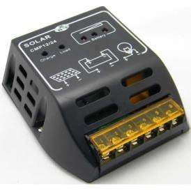 Regolatore Carica CMP12 10A 12V/24V Solar Charge Controller