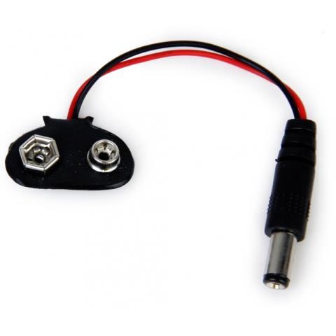 Adaptador Para Bateria Da 9v Para Arduino