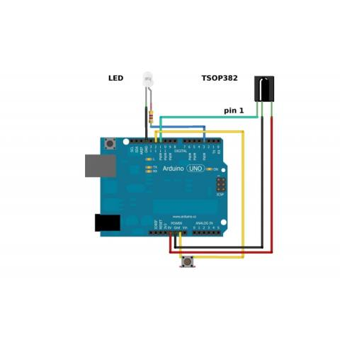 Tl1838 Infrared Receiver Led