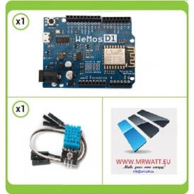 Basic Kit remote control for Temperature and Humidity