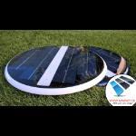 Lampada led energia solare subacquea illumina piscine stagni o fontane no cavi si installa in pochi minuti risparmio assicurato