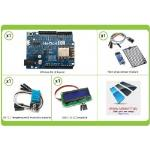 Complete kit WiFi Weather Station with Remote Control Arduino Wemos d1