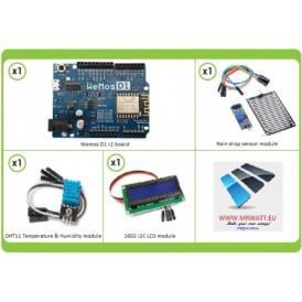 Complete kit WiFi Weather Station