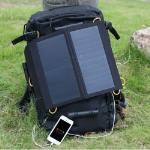 Pannello solare pieghevole 13 watt Sunpower altissimo rendimento con USB