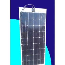 Pannello solare fotovoltaico Monocristallino 100W 12V ULTRAPIATTO per barche