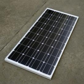Pannello solare fotovoltaico Monocristallino 100W 12V
