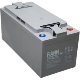 Batteria FIAMM AGM pannelli solari fotovoltaici 205Ah [12FGL205]