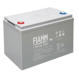 Batteria FIAMM AGM pannelli solari fotovoltaici 100Ah [12FGL100]