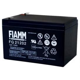 Batteria FIAMM AGM pannelli solari fotovoltaici 12Ah [FG21202]