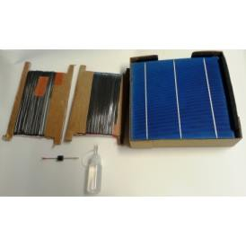 "KIT 300W 72 celle solari 6""x6"" (156x156mm) A-grade"