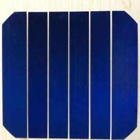 Cella solare monocristallina sunpower flessibile ad alta efficienza da 20x125 mm classe A da 550mW