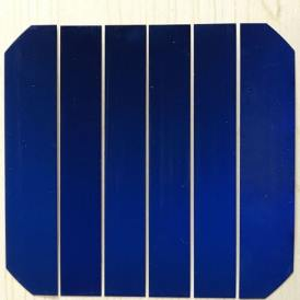 Célula solar monocristalina sunpower flexible alta potencia 20X125mm A-grade de 550mWh