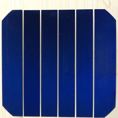 Customized Sizes Sunpower 1//6 Cut C60 Solar Cells