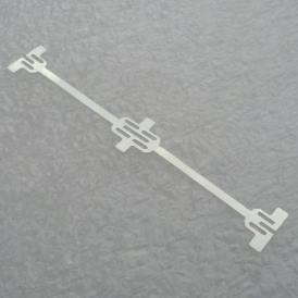 Special connector for Sunpower c60 solar cells. Dog bone connector