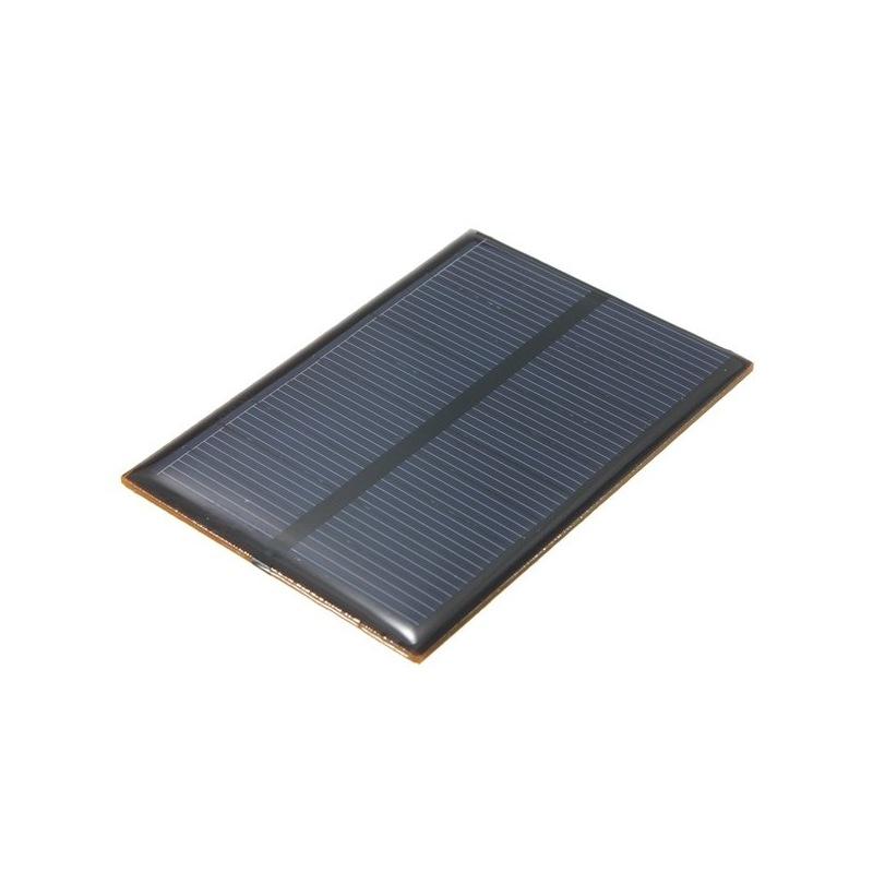 ... Mini Pannello Solare Monocristallino Epoxy 85X60 Mm ...