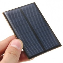 Mini epoxy solar panel monocrystalline 85X60 mm