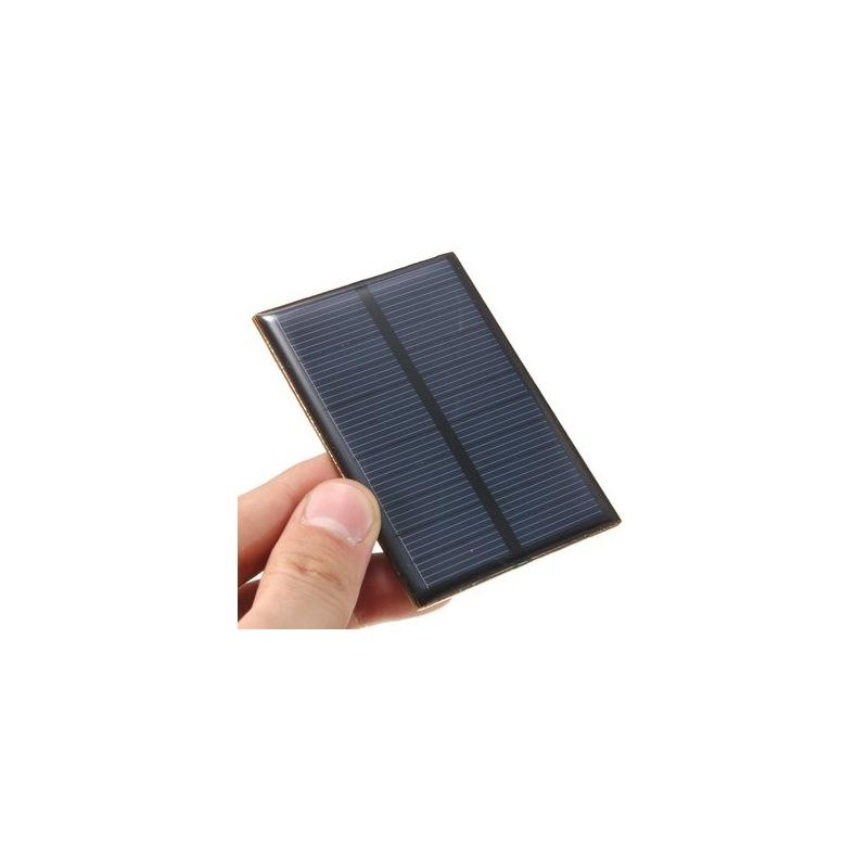 Mini Kit Pannello Solare : Mini pannello solare monocristallino in resina epossidica