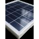 Mini pannello solare policristallino in vetro di dimensioni 240X240 mm con cornice in alluminio da 8800mV a 7W di potenza