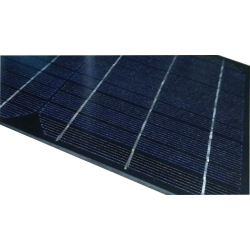 Mini monocrystalline solar module size 500X200 mm made in glass with junction box 18V 15W power for DIY electronic applications