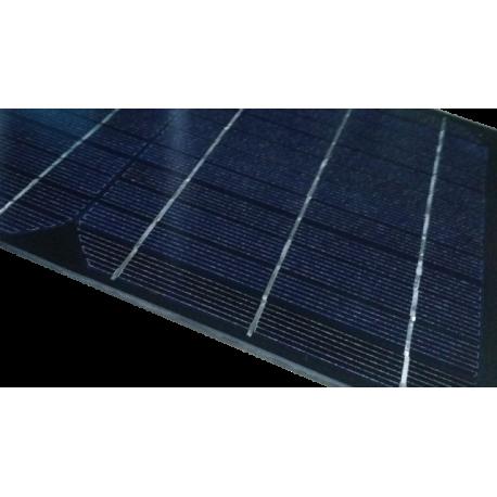 Good Mini Pannello Solare Monocristallino In Vetro Di Dimensioni 500X200 Mm Con  Scatola Di Connessione Da 18V