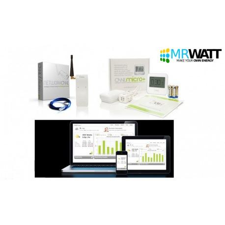 Misuratore in tempo reale di consumi elettrici per casa senza fili Wireless OWL Micro Plus TSE009-002 installazione semplice