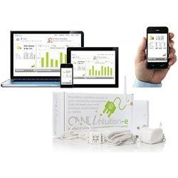 Medidor de potencia en tiempo real inalámbrico OWL intuition-e TSE200-101 verifique consumo desde la aplicación del smartphone