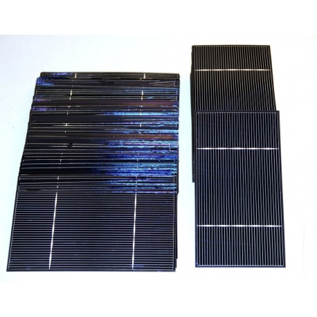 "Solar cell 3""x6"" ( 76X156 mm ) A-grade 2BB"