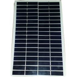 customized solar module mono squared made in glass white ground no frame size 14X22cm 36 cells rounded corners 18V 4200mW power