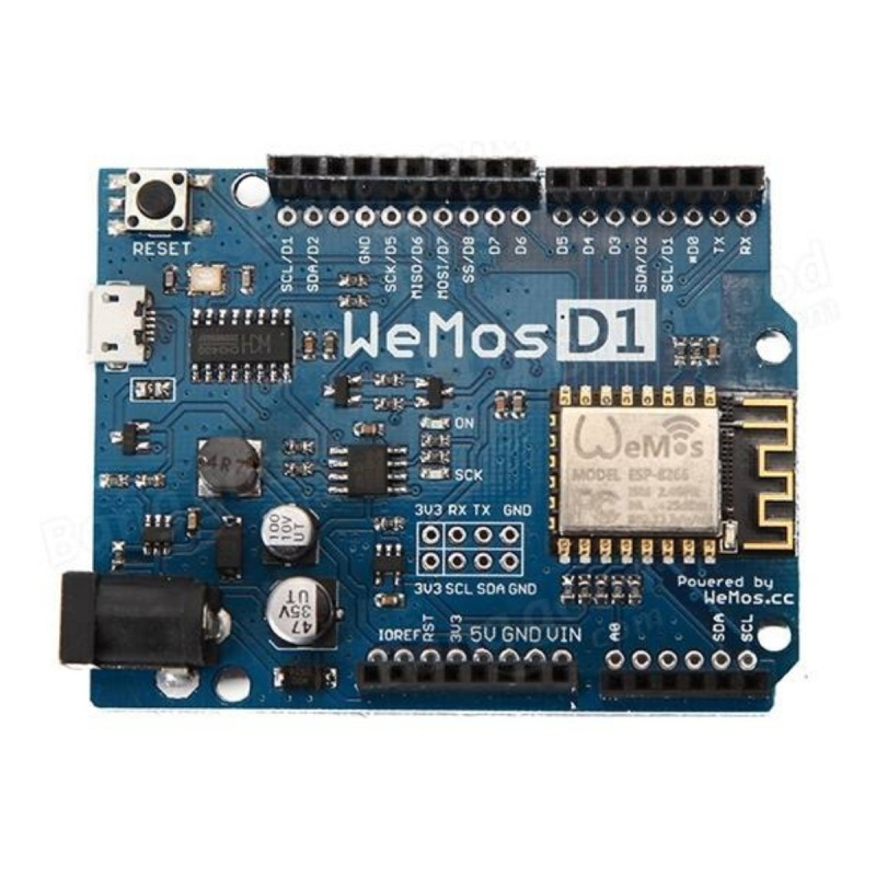 Wemos D1 R2 Wifi Esp8266 Development Board Arduino Wifi