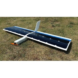RC DIY solar airplane without batteries powered by solar cells model Solar DR1 1300mm Solar drone
