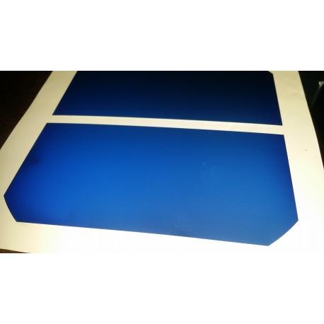 Cella solare monocristallina sunpower flessibile ad alta efficienza tagliata in due parti da 63x125mm classe A da 1650mW
